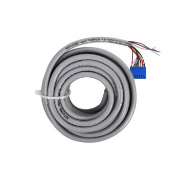 Kabel podłączeniowy EA218 do zamków Abloy EL46x, EL420, EL56x, EL520 oraz serii PE4xx i PE5xx - długość 6m