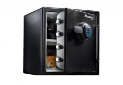 Sejf Master Lock LFW123FTC z zamkiem elektronicznym, ochrona przed ogniem i wodą, (wys. x szer. x gł.:45,3 x 41,5 x 49,1cm)