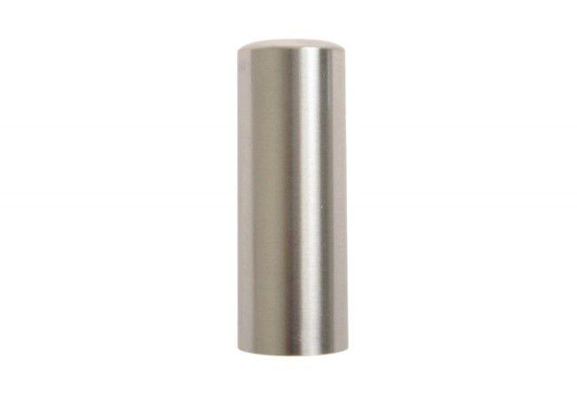 Nasadka na zawiasy regulowane fi 14 prosta aluminiowa nikiel-satyna