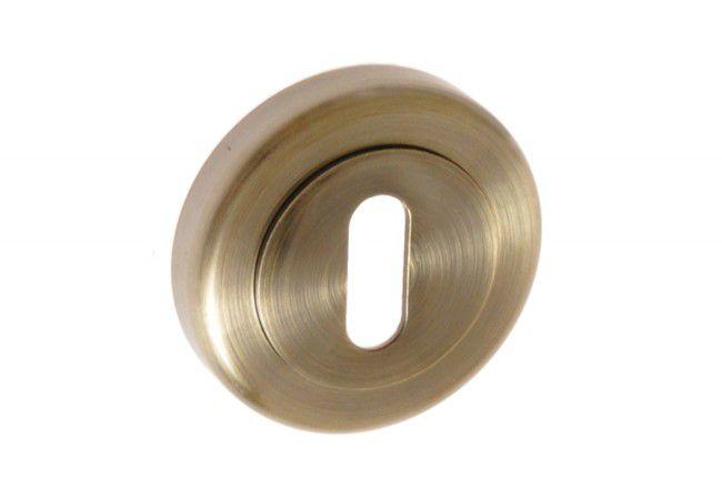 Szyld okrągły KL mosiądz antyczny (RETRO, RODOS)