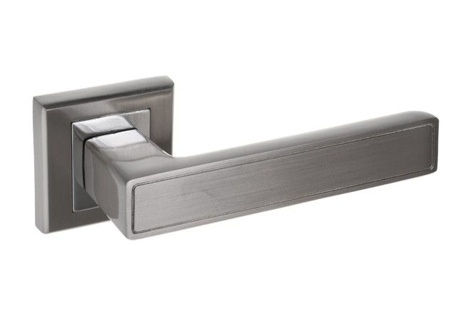 Klamka drzwiowa CLARA  nikiel/chrom