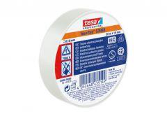 Taśma elektroizolacyjna 5000V PVC Tesa biała, długość 20 m, szerokość 19 mm (53988-00066-00)