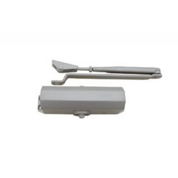 Samozamykacz TS-10 1-3 SGS srebrny z ramieniem