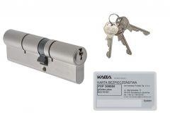Wkładka bębenkowa Kaba/Gege pExtra plus 35/60 nikiel, atest kl. 6.2 C