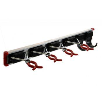 Uchwyt na narzędzia BRUNS (dł. 50cm, 2 haki i 4 uchwyty)