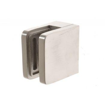 (49) Uchwyt szkła kwadratowy na powierzchnię płaską D40 45x45 mm AISI304,JP/ SP A/2100-000