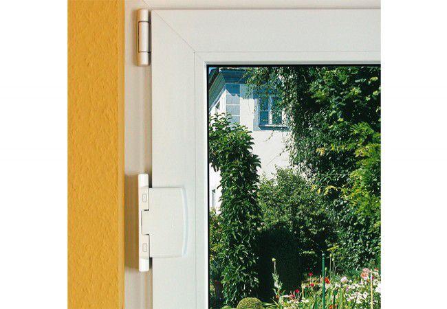 Blokada okienna Abus FAS 97 , biała