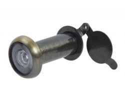 Wizjer drzwiowy fi 14 50-75 mm AB-patyna