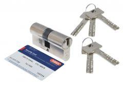 Wkładka bęb. ABUS VELA 2000 30/45 kl.6,2 nikiel, klucz nawiercany