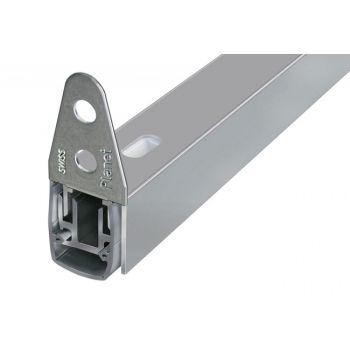 Listwa uszczelniająca progowa opadająca PLANET MF, L-1210 mm,(50dB),PCV i aluminium LI-PL-032