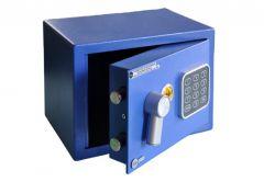 Sejf podstawowy YALE mini (YSV/170/DB1/B-CW), niebieski