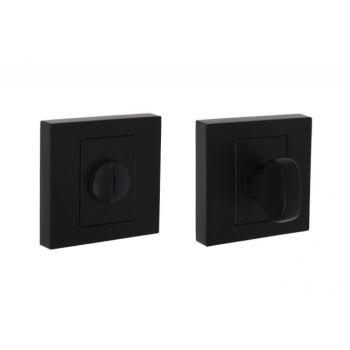 Tarczka kwadratowa B-Harko WC, czarna(nigra)