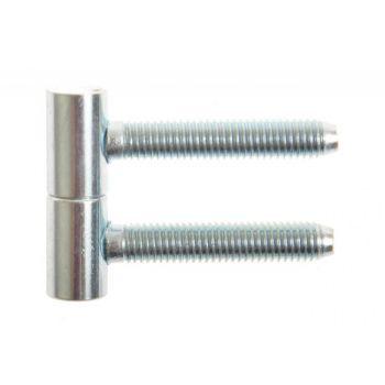 Zawiasa wkręcana 12,5x40 ocynk srebrny A62-00-00/C