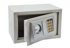 Sejf Office z zamkiem elektronicznym (310x200x200 mm), biały