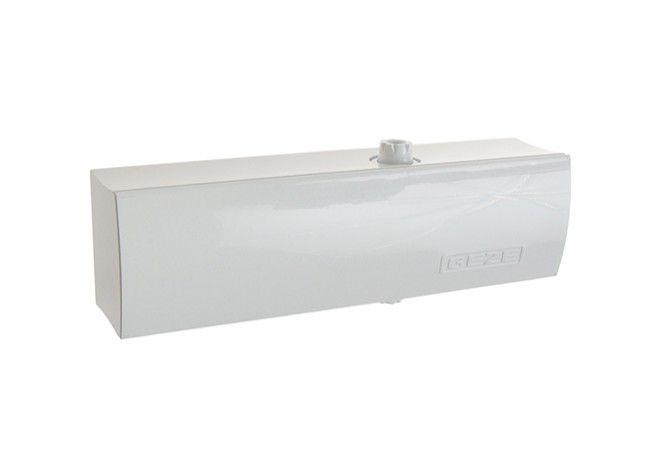Samozamykacz GEZE TS 1500 bez ramienia biały EN 3/4 (skrzydło do 90 kg,max.szer.1100 mm)