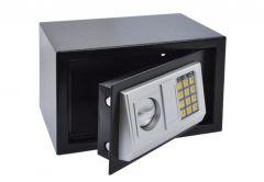 Sejf Office z zamkiem elektronicznym (310x200x200 mm), czarny