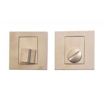 Tarczka kwadratowa WC nikiel matowy T-004-121 G5