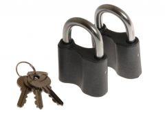 Kłódka 50/8 w systemie jednego klucza (2szt)