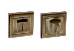 Szyld kwadratowy WC patyna (BETA)