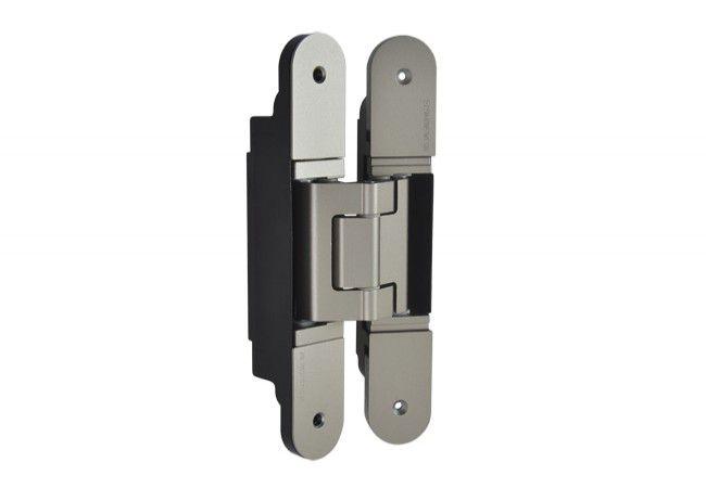 Zawias Simonswerk Tectus TE340 3D SSL - wygląd stali nierdzewnej (924.17.104), wym.160x28 mm, ciężar do 80 kg