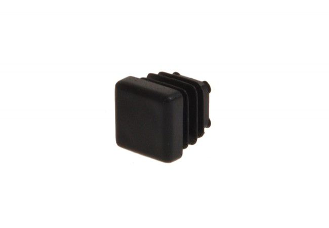 Zaślepka kwadratowa ZK 16x16 czarna