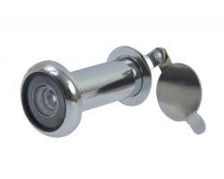 Wizjer drzwiowy fi 16 35-60 mm CP-chrom polerowany