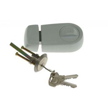 Zamek wierzchni YALE Y2T biały klucz nacinany