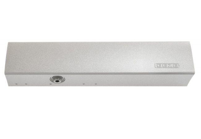 Samozamykacz GEZE TS 4000 bez ramienia srebrny EN 1-6 (102789)  (skrzydło do 200 kg,max.szer.1400 mm)
