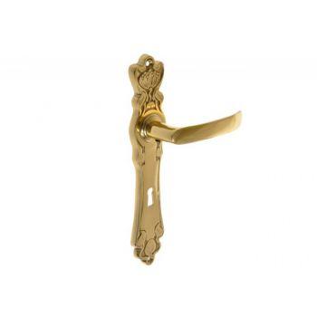 Klamka mosiężna  MAKI 72 klucz