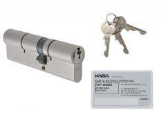 Wkładka bębenkowa Kaba/Gege pExtra plus 35/35 nikiel, atest kl. 6.2 C