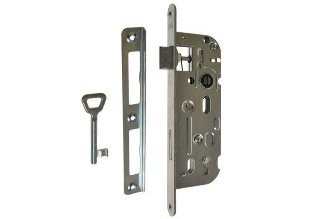 Zamek HOBES 01-15 90/40 n/klucz