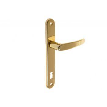 Klamka drzwiowa D1 nowe złoto 72 KL 30x215