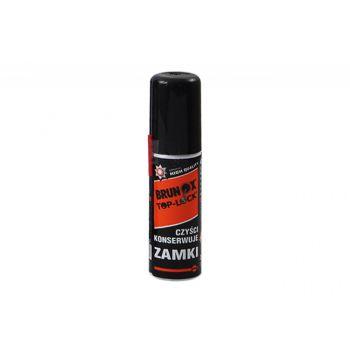 Preparat Brunox Top-Lock Spray do konserwacji wkładek, zamków, kłódek 25ml (GTU-03)