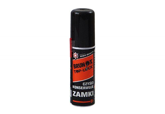 Preparat Brunox Lock Spray do konserwacji wkładek, zamków, kłódek 25ml