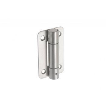 Zawias ze sprężyną WC NOO typ 1 otwieraj SS 304 zamykający 90x52x2 mm