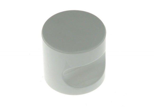 Gałka do WC jasno biała 15