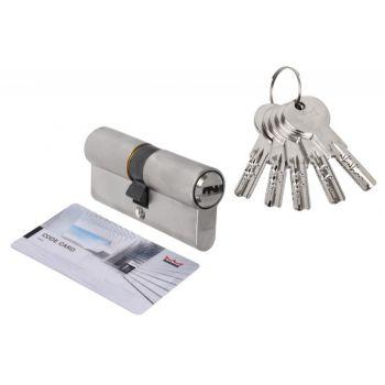 Wkładka bębenkowa DORMA DEC 261 30/60, nikiel 5 kluczy, (atest kl. 6.2 C), bezpieczne sprzęgło