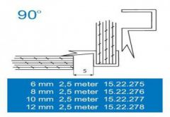 Uszczelka 5704 90st. 8 mm 2,5 m