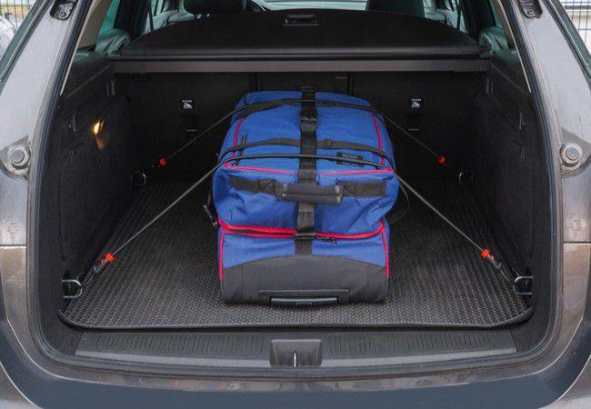 Uniwersalne elastyczne pasy bagażowe ABUS Bungee Set SB 15 (6 linek, 8 końcówek)