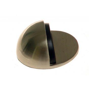 Odbój drzwiowy półkula samoprzylepny nikiel-satyna