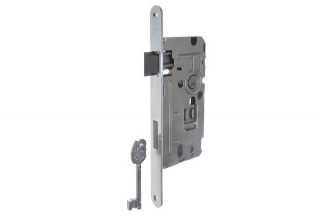 Zamek 110/TW 72/50 klucz ocynk biały lewy