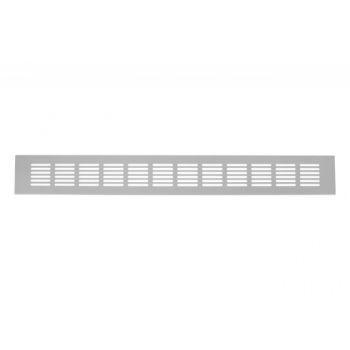 Kratka wentylacyjna mała 480 x 60 mm, przepuszczalność powietrza 230 m3/h dla +/- 10Pa