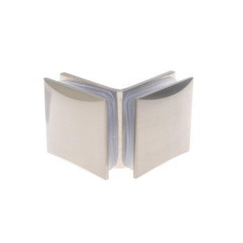 Łącznik szkło-szkło do kabin prysznicowych TD-862 90 stopni 8-12 mm mosiężny satynowany