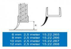 Uszczelka 5702 8 mm 2,5 m