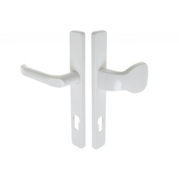 Pochwyt-klamka SATURN 32 92/240 WB biała