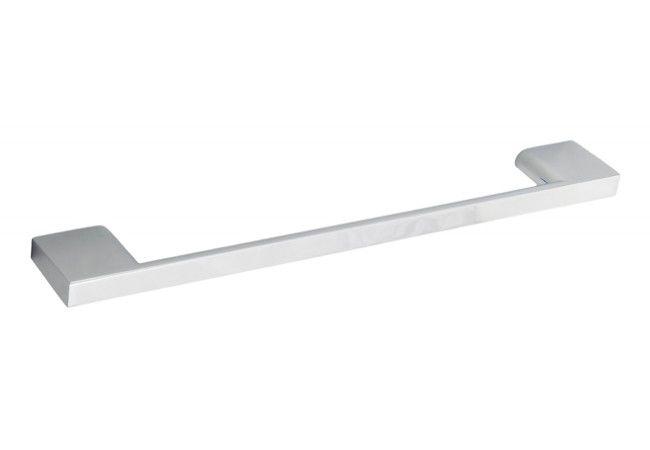 Uchwyt meblowy PAROS (rozstaw: 128 mm, szerokość: 155 mm), chrom