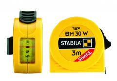 Miara zwijana stalowa STABILA Typ BM 30 - 3 m z systemem antypoślizgowym
