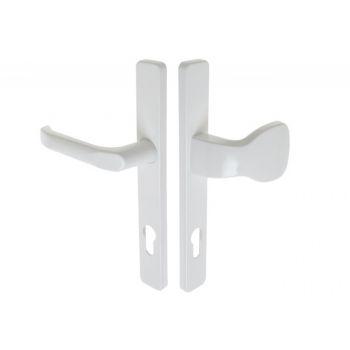 Pochwyt-klamka SATURN 32 85/240 WB biała