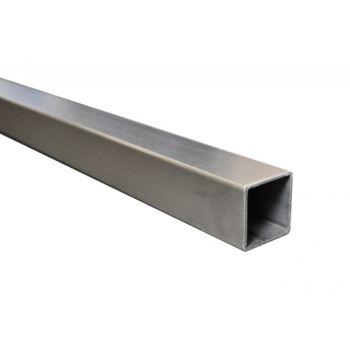 Profil nierdzewny inox szlif AISI, JP 40x40x2/L3000 mm SP A/40x40x2