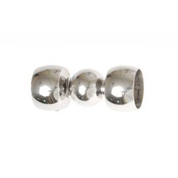 Łącznik rury 40 mm chrom(421-561)